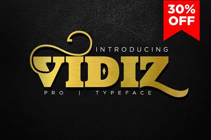 VIDIZ PRO Typeface
