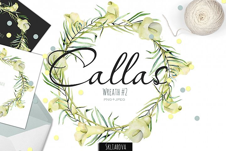 Callas. Wreath #2