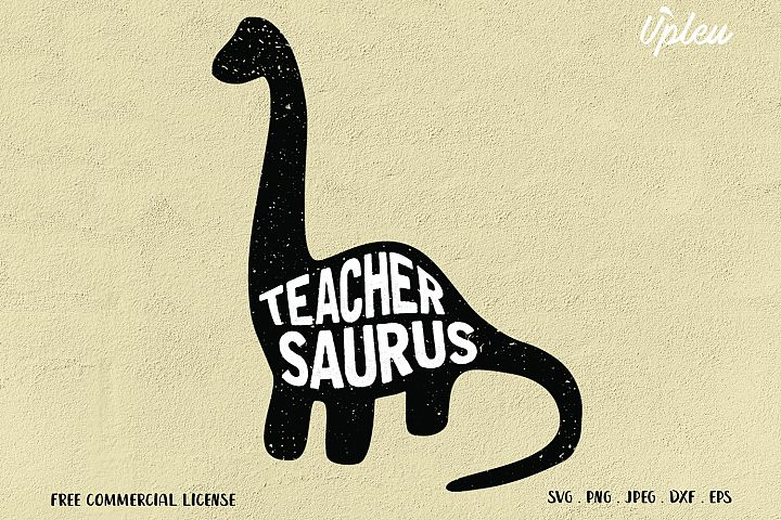 Teachersaurus SVG
