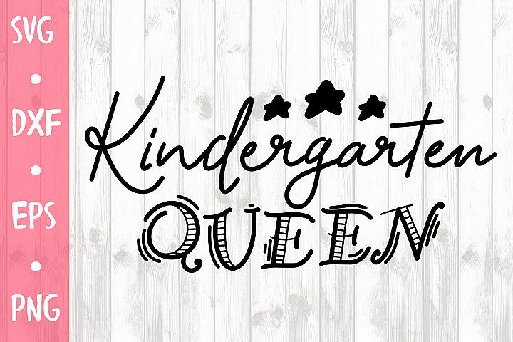 Kindergarten queen CUT FILE