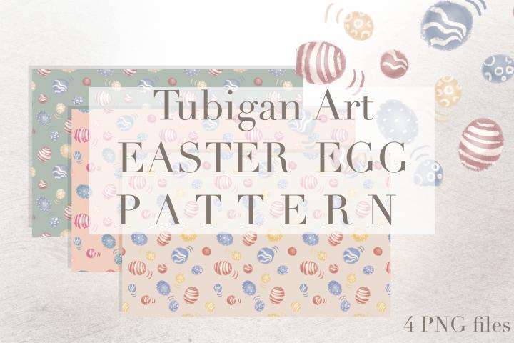 Easter Egg / Dinosaur Egg Tiles Seamless Pattern
