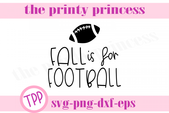 Fall is for Football svg, Football svg, Fall svg