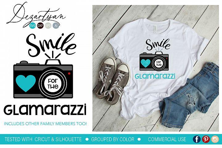 Smile for the Glamarazzi Mammarazzi Paparazzi Camara