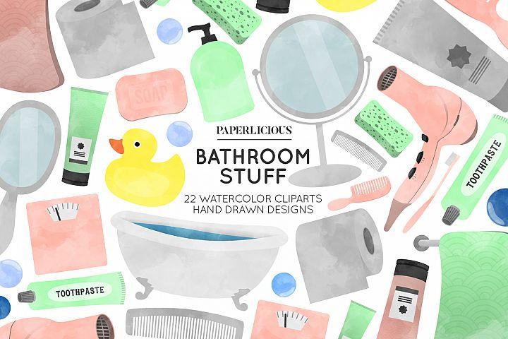 Bathroom Cliparts