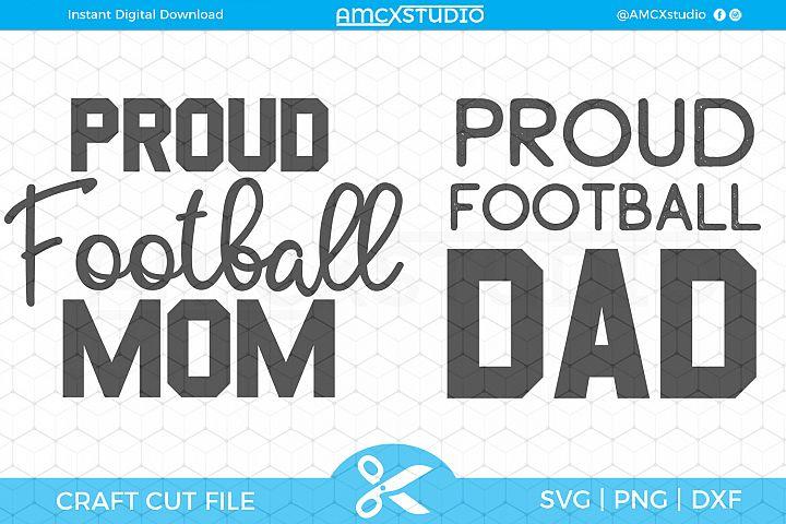 Proud Parent - Football SVG Files