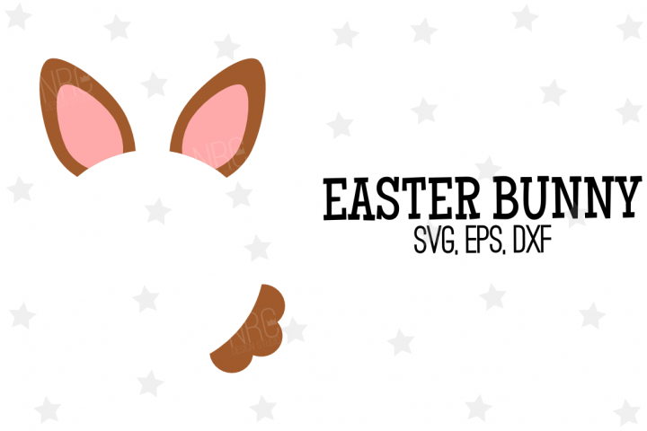 Easter Bunny SVG File