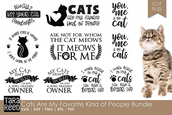 Cats Are My Favorite Kind of People Bundle