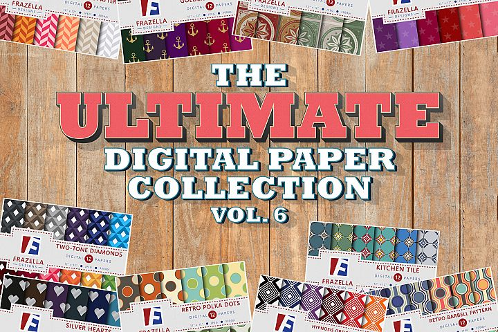 The ULTIMATE Digital Paper Bundle Vol 6