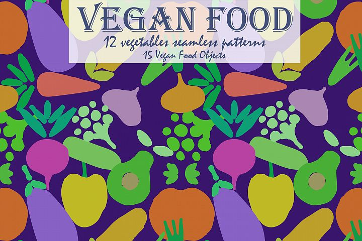 Vegan Food | Patterns and more