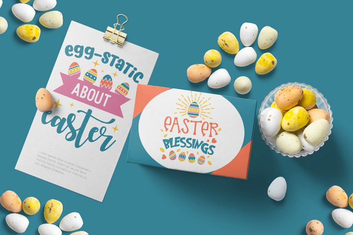 Easter SVG Bundle example 1
