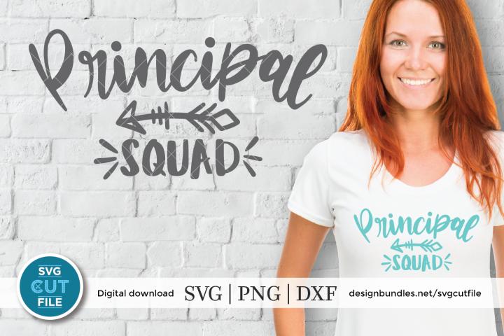 Principal squad svg - a principal svg for cricut crafters