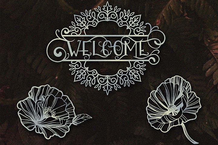 Papercut Nature Bundle SVG - Free Design of The Week Design0