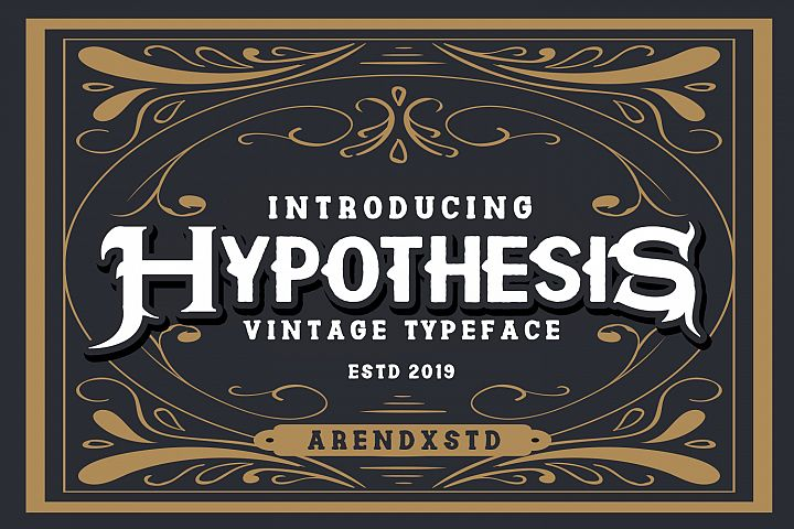 Hypothesis Typeface