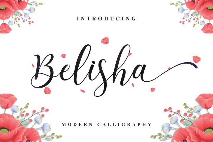 Belisha Modern Script