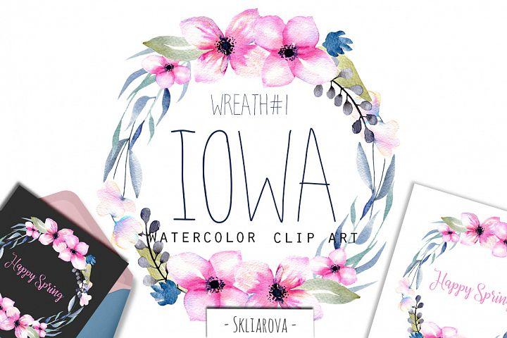 Iowa. Wreath #1
