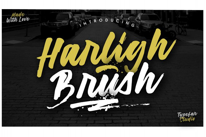 Harligh Brush Font