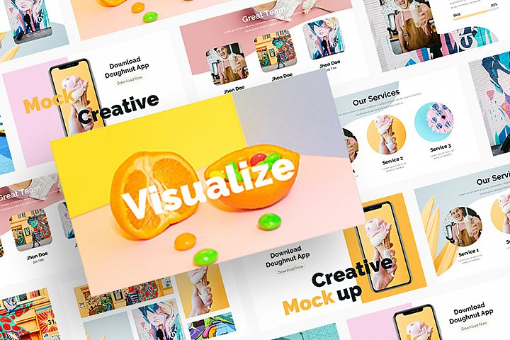 Visualize - Keynote Template