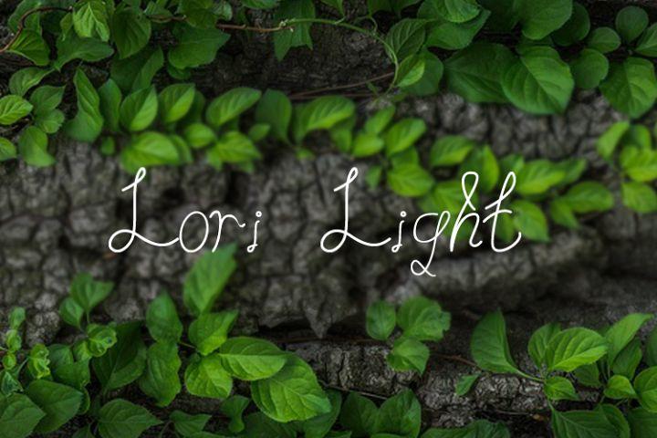 Lori Light | Font
