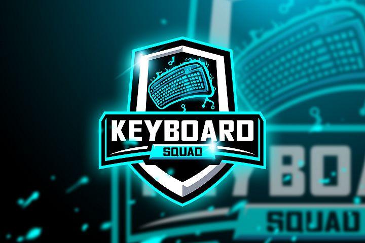 Keyboard Squad - Mascot & Esport Logo