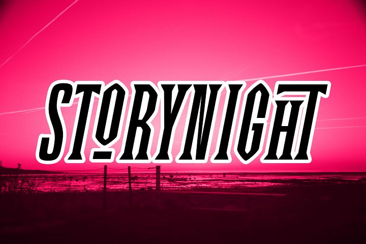 Story Night Font