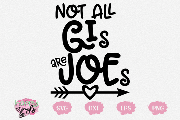 Not All GIs Are Joes - A Military SVG