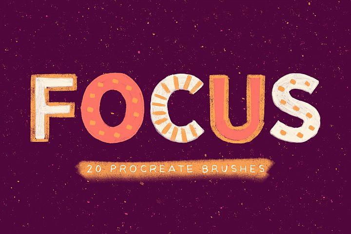 Focus - Procreate Brushes