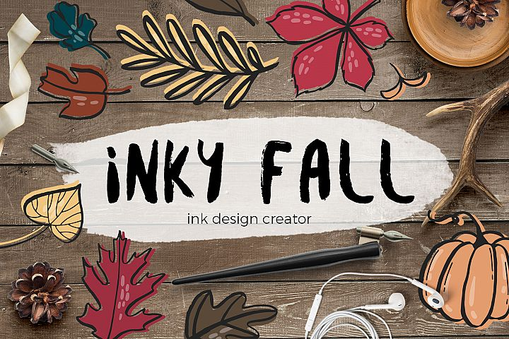 Inky fall - ink design creator
