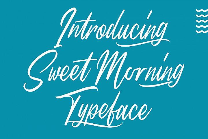 Sweet Morning - Script Font