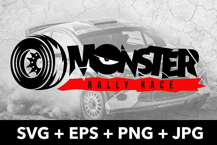 Monster Rally Race Logo