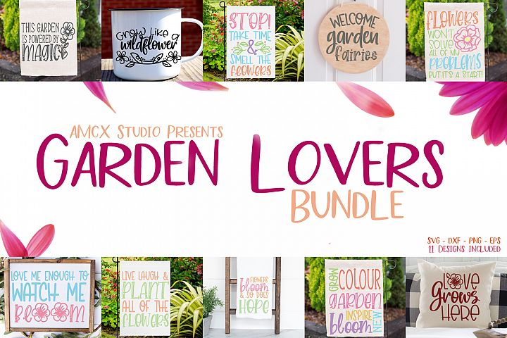 Garden Lovers Bundle - Spring Decor Design