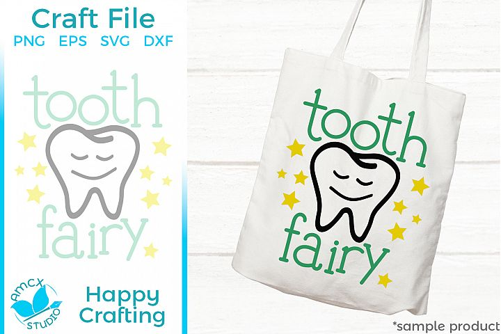 Tooth Fairy - Small bag SVG file