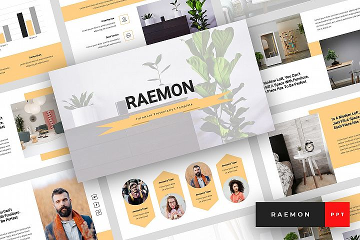 Raemon - Furniture PowerPoint Template