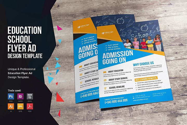 Education School Flyer Design