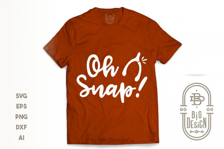 Oh Snap SVG - Thanksgiving Svg , Wishbone Svg