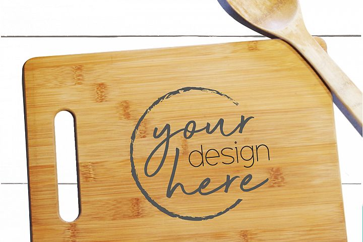 Cutting Board Mock-up - Crafters Mockup JPG