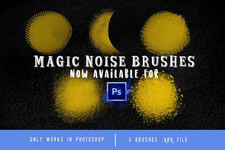 Magic Noise brushes for Photoshop