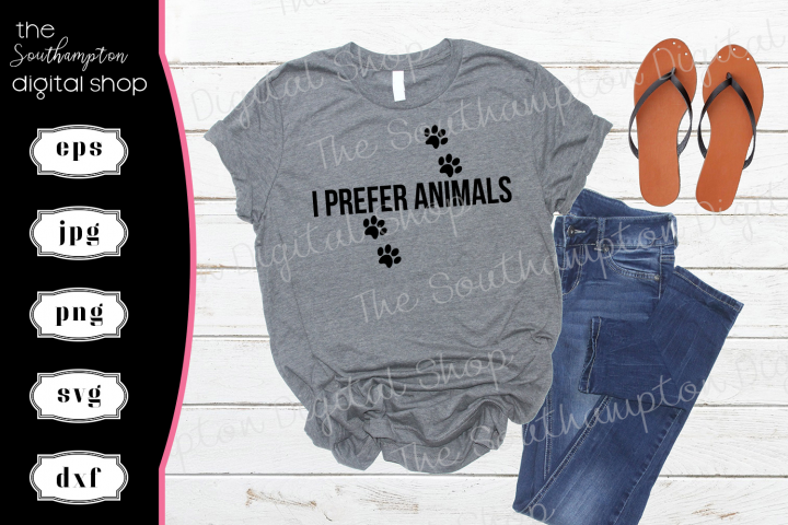 I Prefer Animals