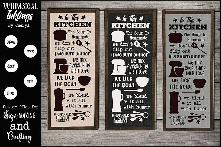 Blend It All Kitchen SVG