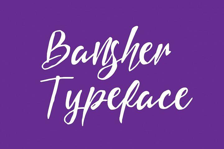 Bansher Typeface