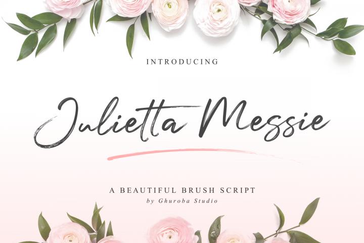 Julietta Messie | Brush Script