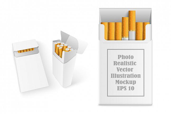 Realistic Cigarette Mockup