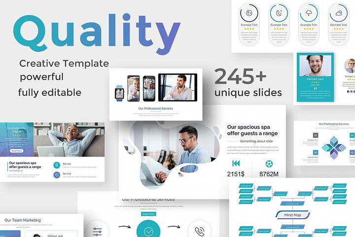 Quality Control Pitch Deck Keynote Template
