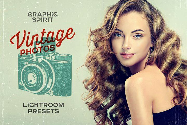 Vintage Photos Lightroom Presets Set example