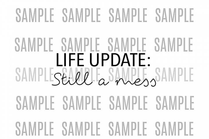 Life Update still a mess design file, shirts, svg, .studio3