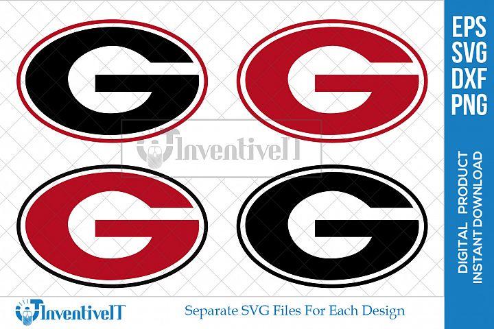 Georgia SVG | Athletics SVG | Georgia Bulldogs Logo SVG |