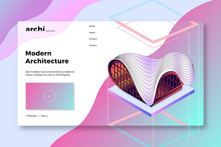 Modern Architecture - Banner Page