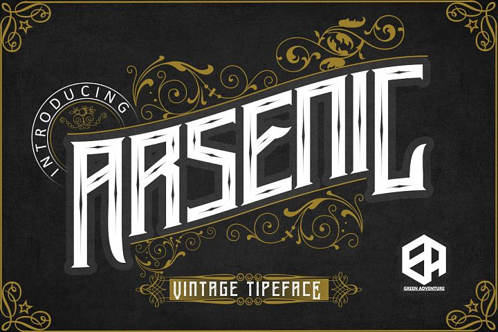 Arsenic - Vintage Typeface