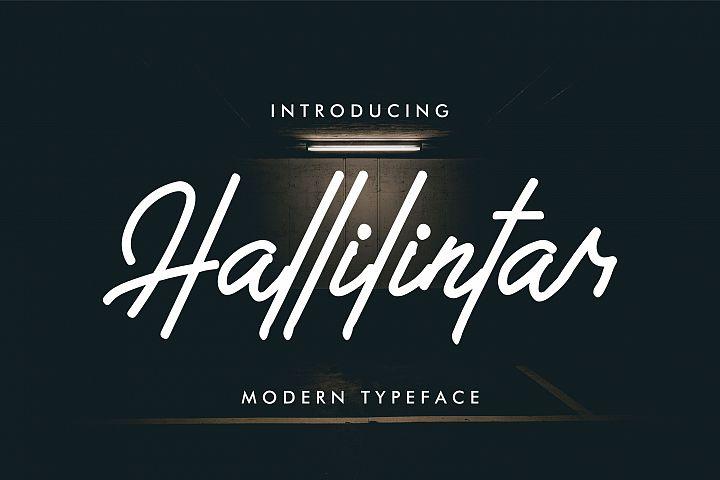 Hallilintar | Modern Font