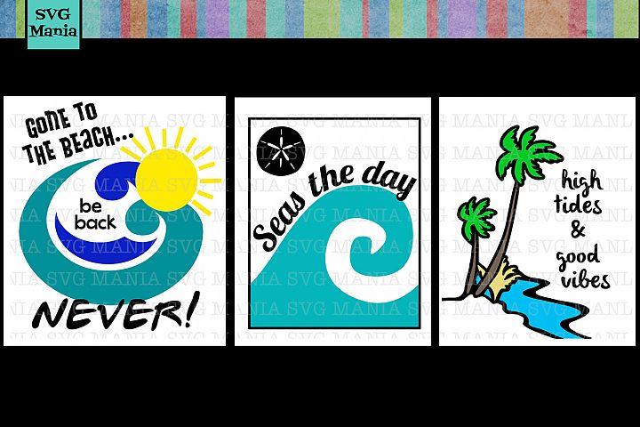 Beach SVG File Bundle Beach SVG Files for Cricut Summer SVG File Bundle SVG Bundle Commercial Use SVG Make Beach Decals
