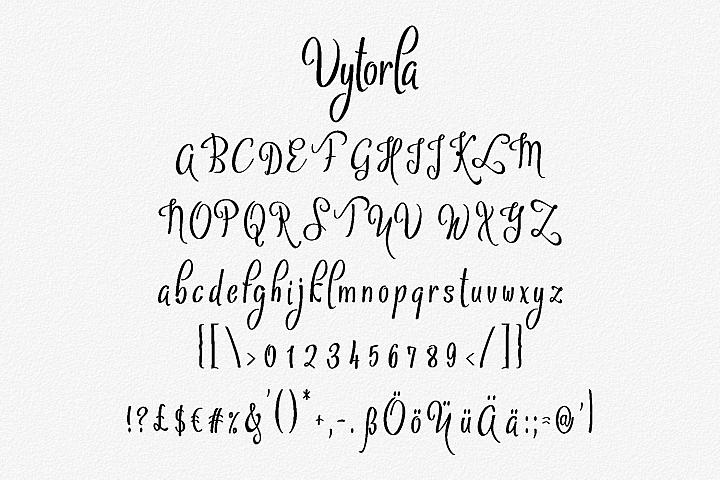 Vytorla Font Trio example image 3